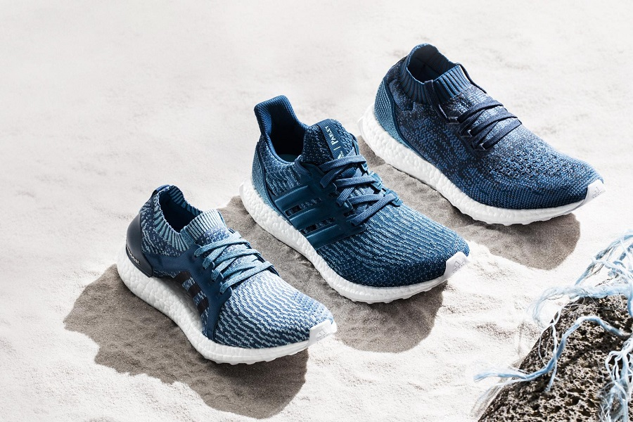 Adidas Parley là sự hợp tác mang lại đôi giày từ nhựa tái chế