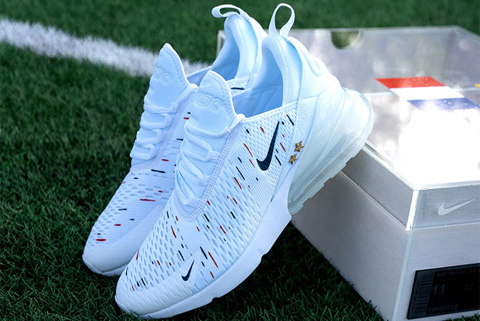 Mbappe nhận được đôi Nike customed