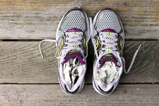 hướng dẫn giặt giày thể thao