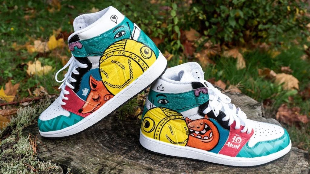 repaint giày