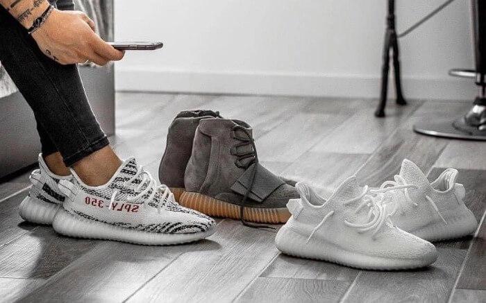 giặt giày Yeezy