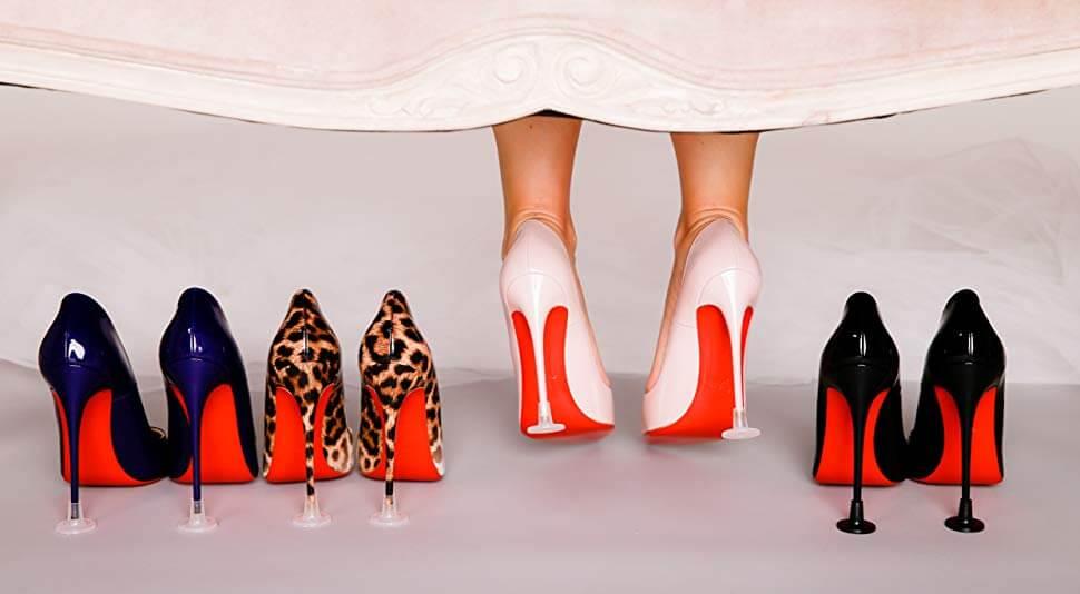 vệ sinh giày cao gót