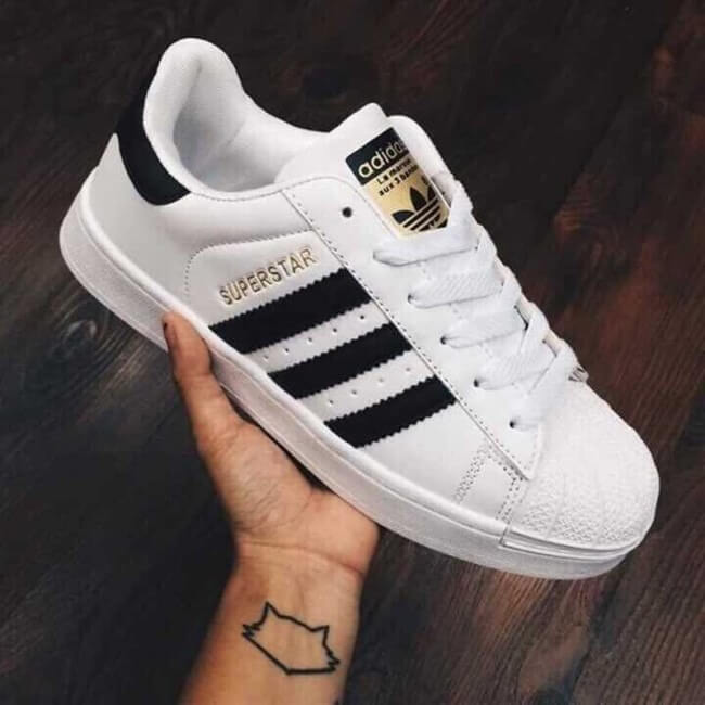 làm sạch giày adidas superstar 2