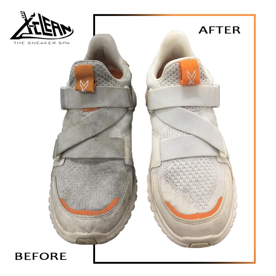 vệ sinh giày sạch sẽ