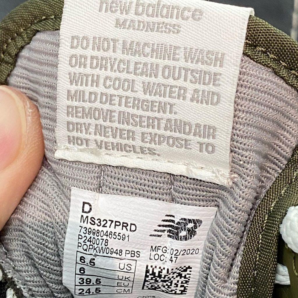 nhãn thông tin giày xclean